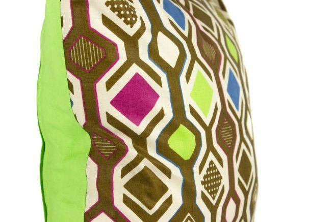 Cojin de tela de Ghana