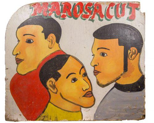 Cartel de peluquería