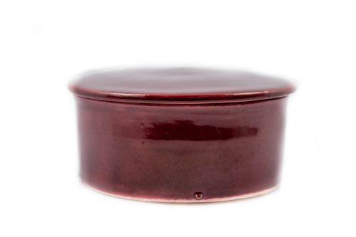 Caja cerámica de color