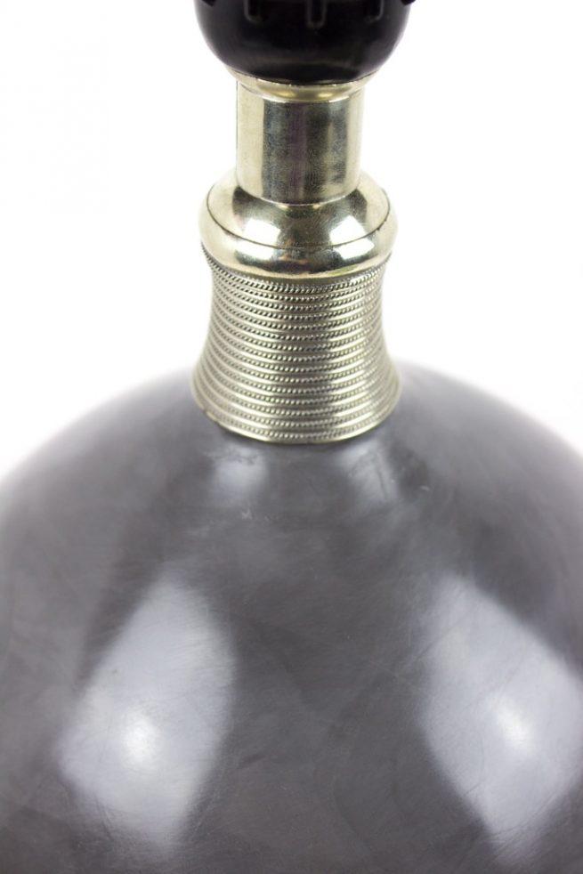 Lámpara de mesa de tadelakt gris