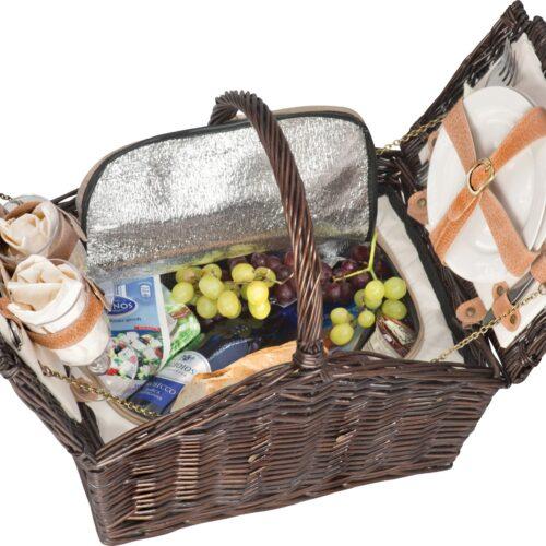 Cesta de picnic para dos