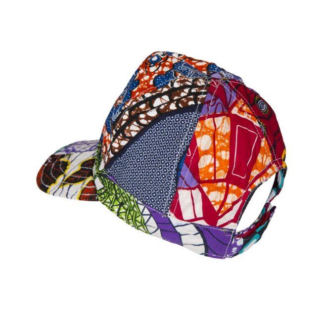 Gorra de estampado africano