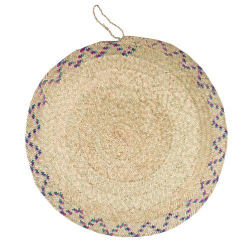 Tapete circular de fibra vegetal ∅ 52