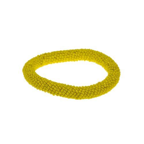 Pulsera samburu amarilla
