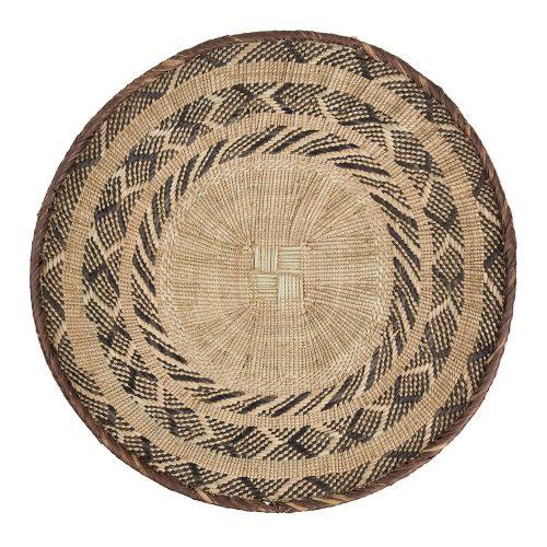 "Plato de fibra ""Tonga"" ∅ 52 Cm"