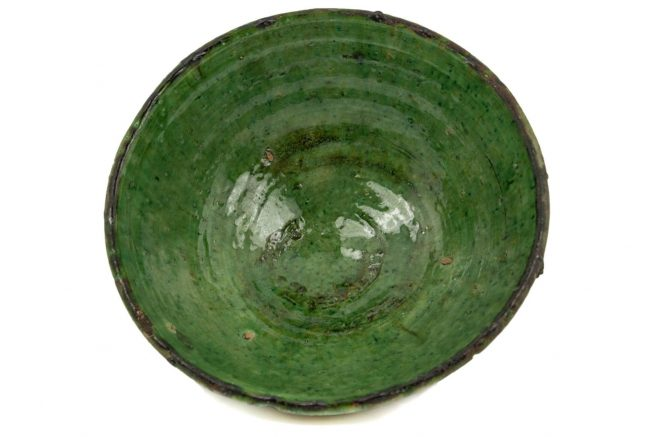 Cerámica verde ∅ 25 Cm.