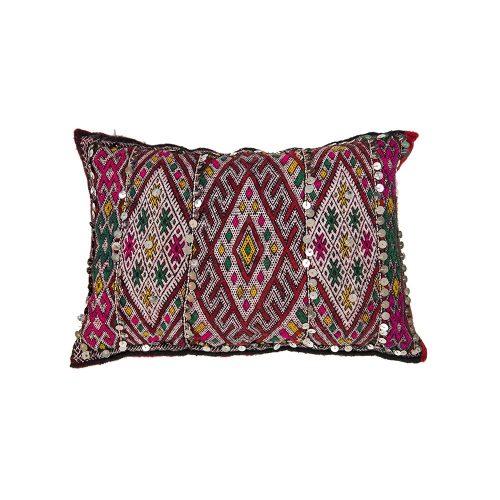 Cojin de kilim bereber con relleno (48x38)
