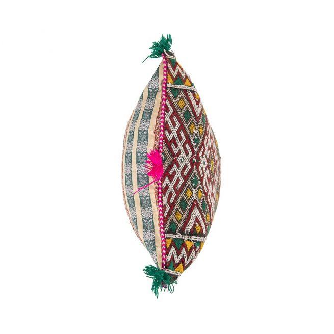 Cojin de kilim bereber con relleno (52x42)