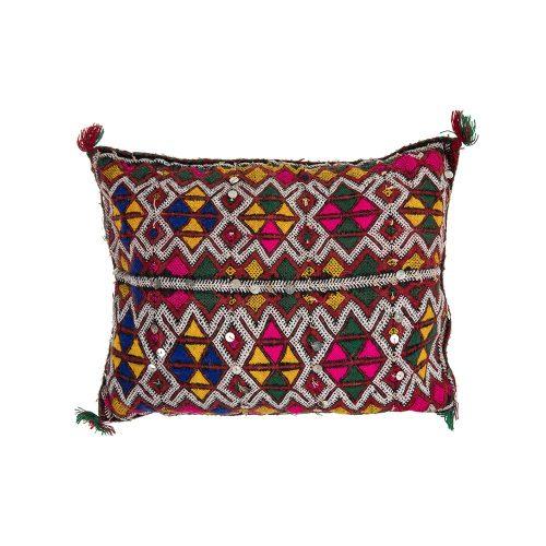 Cojin de kilim bereber con relleno (40x37)