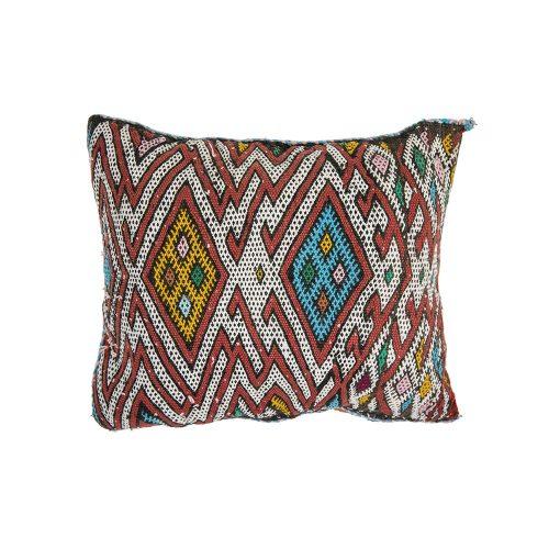 Cojin de kilim bereber con relleno (52x43)