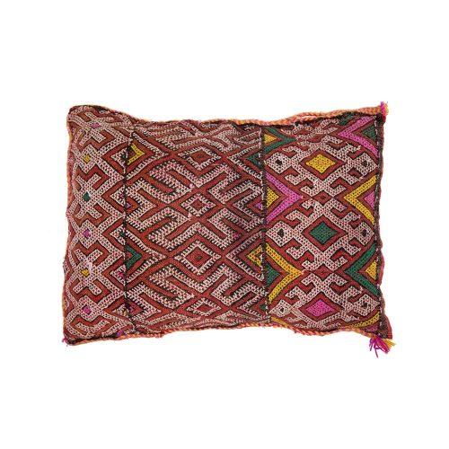 Cojin de kilim bereber con relleno (37x30)