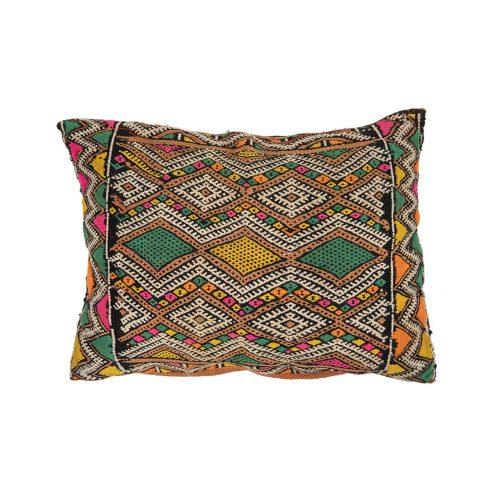 Cojin de kilim bereber con relleno (46x34)