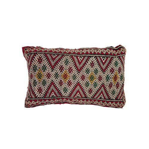 Cojin de kilim bereber con relleno (55x30)