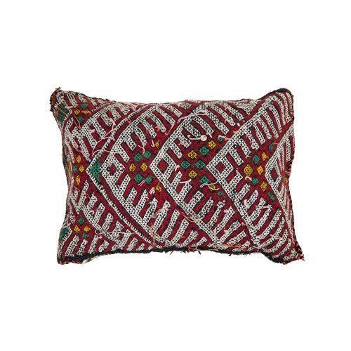Cojin de kilim bereber con relleno (50x36)