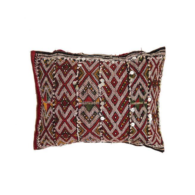 Cojin de kilim bereber con relleno (50x30)