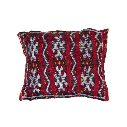 Cojin de kilim bereber con relleno (40x35)