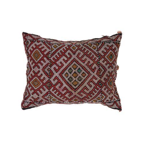 Cojin de kilim bereber con relleno (45x35)