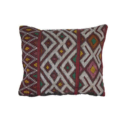 Cojin de kilim bereber con relleno (39x34)