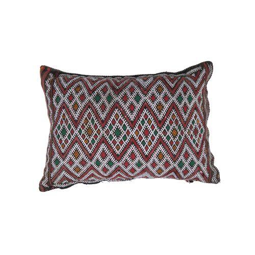 Cojin de kilim bereber con relleno (35x26)