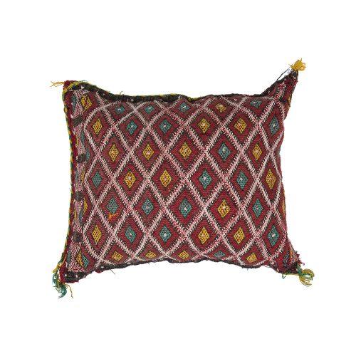 Cojin de kilim bereber con relleno (50x44)