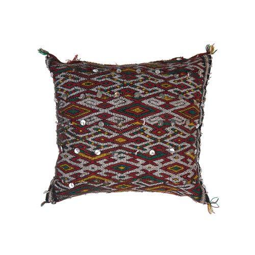 Cojin de kilim bereber con relleno (40x30)
