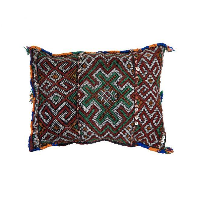 Cojin de kilim bereber con relleno (44x36)
