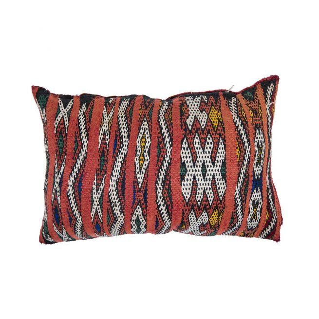 Cojin de kilim bereber con relleno (46x32)