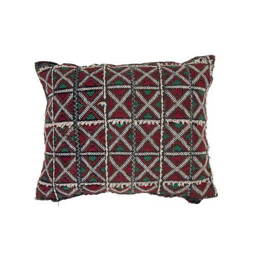 Cojin de kilim bereber con relleno (43x36)