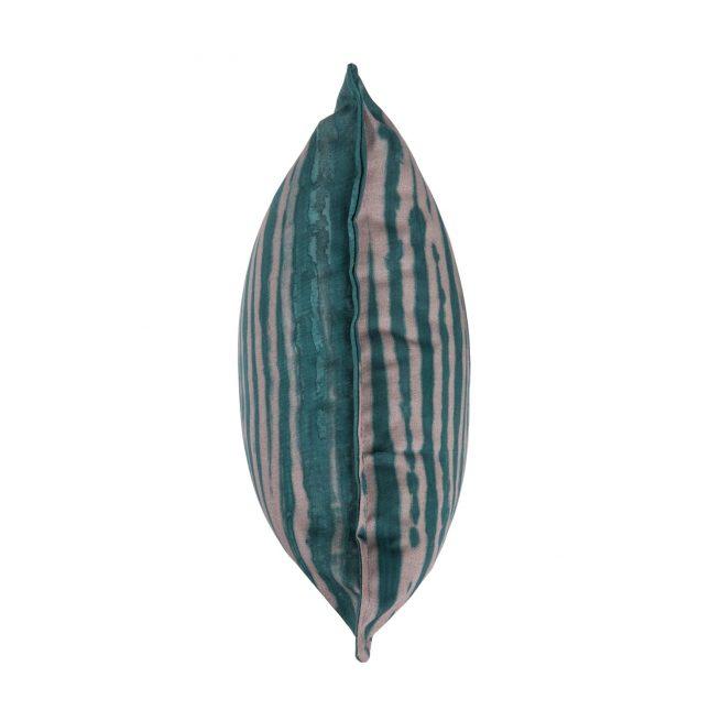 Cojín Brakina verde 40x40