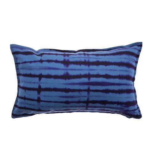 Cojín Brakina azul y morado 30x50