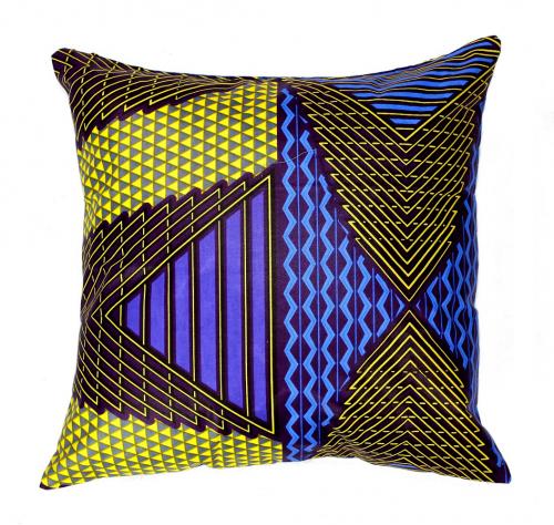 Cojín Ankcara (40x40) multicolor con relleno