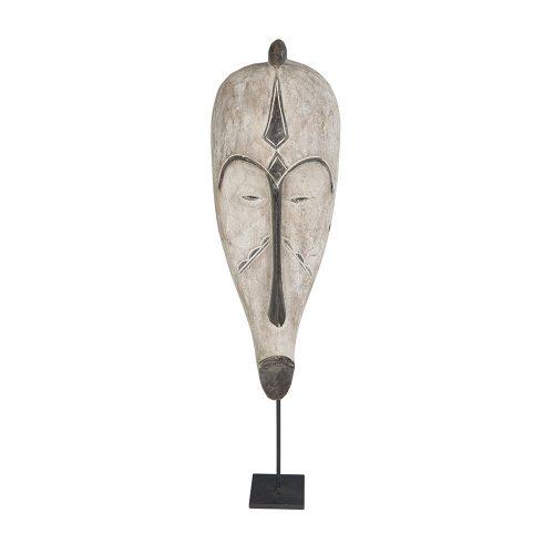 Máscara fang con peana